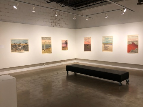 Exhibition at Rosalux Gallery, Minneapolis Minnesota, October 2018
