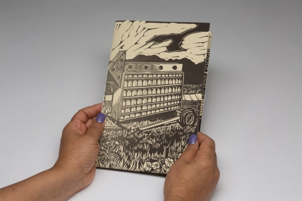 Land of Attachments (Cover) Linocut and letterpress 2019
