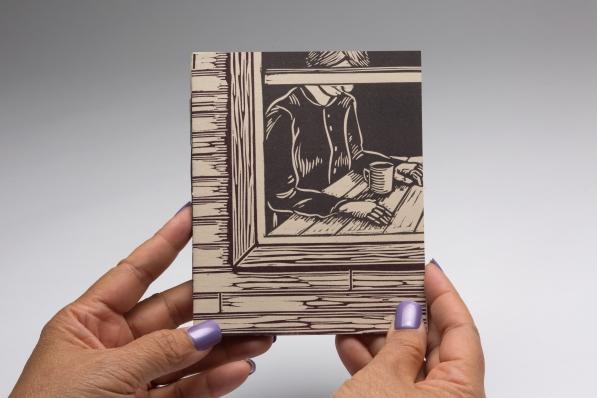 Complicity, 2019, Linocut and Letterpress